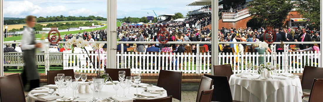 dine and view at goodwood